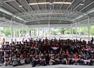 """หลักสูตร""""Team Development"""" สถาบันนวัตกรรมพัฒนาทรัพยากรมนุษย์และองค์กร ได้จัดอบรม ให้กับ ผู้บริหารและพนักงาน บริษัท ไอกะ จากทั้ง สามประเทศ คือ ไอกะไทยแลนด์ ไอกะมาเลเซีย และไอกะสิงคโปร์ ณ สวนสาธรณะหาดใหญ่"""
