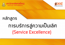 การบริการสู่ความเป็นเลิศ (Service Excellence)